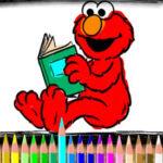 Elmo Coloring