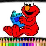 Elmo Colouring