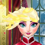 Elsa Frozen Haircut