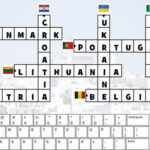 European Flags Crossword Puzzle