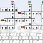European Flags Crossword Puzzle