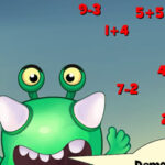 Feed the Monster with Addition and Subtraction
