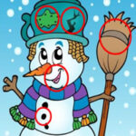 Find 10 Differences in Snowmen