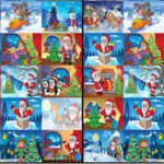 Find Different Christmas Drawings