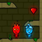 Fireboy and Watergirl. Forest Temple