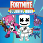 Fortnite Coloring
