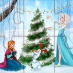 Frozen Jigsaw Puzzles at Christmas