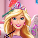 Barbie at the Hairdresser's