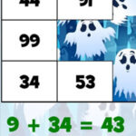 Halloween Additions and Subtractions
