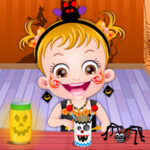 Halloween Crafts with Hazel