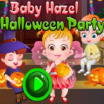 Halloween Party with Baby Hazel