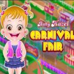 Baby Hazel at the Carnival Fair