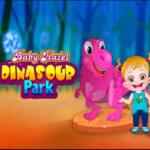 Baby Hazel visits Dinosaur Park