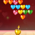 Bubble Shooter Hearts