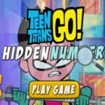 Hidden Numbers Teen Titans Go