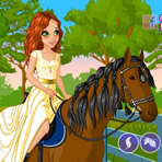 Horse and Rider Dress Up