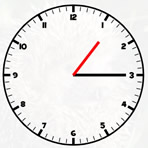 Hour and Minute Clock Hands