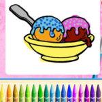 Ice Cream Colouring