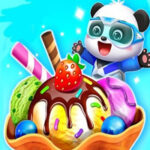 Ice Cream Maker Baby Panda