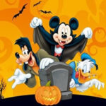 Mickey Halloween Jigsaw Puzzle