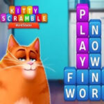Word Stacks Kitty Scramble