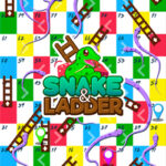 Ladders and Snakes up to 4 Players