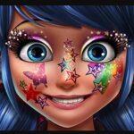 Ladybug Glitter Makeup