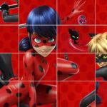 Ladybug Sliding Puzzle