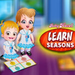 Learn the seasons with Baby Hazel