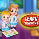 Learn the seasons with Baby Hazel