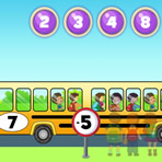 Learning to Add and Subtract with the School Bus