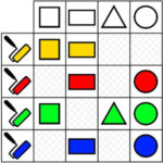 Logical Matrix: Form and Color