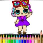 LOL Dolls Coloring