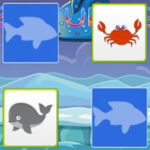 Marine Animals Memory Matching