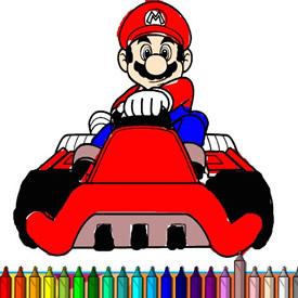 Mario Bros Coloring