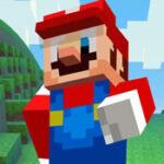 Mario Minecraft Run