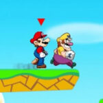 Mario and Wario's race