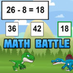 Maths Battle with Dinosaurs