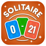 Mathematics Solitaire: keep the number between 0 and 21