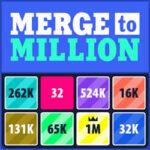 Merge to Million: Powers of 2