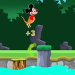 Mickey Kangaroo Jumps