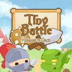 Miniature Battle: Humans vs. Orcs