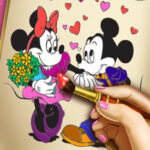 Minnie Online Coloring