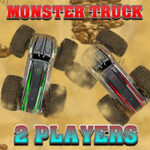 Monster Truck 2 Players Race