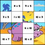 Multiplication Jigsaw
