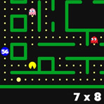 Multiplication Tables Pacman