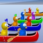 Penguin Canoe Race: Multiplication
