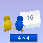Multiplying with Penguins