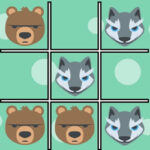 Noughts and Crosses Wild Animals