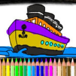 Boat Coloring Online